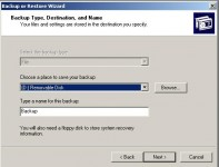4: How to Backup your Computer in Windows XP