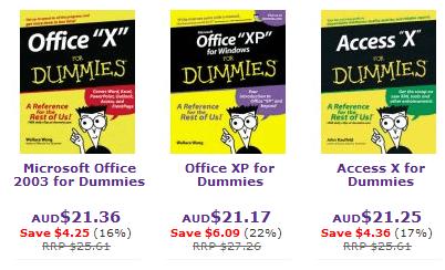 Dummies range of Books