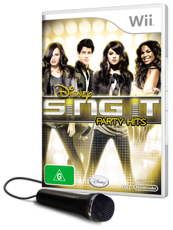 Disney Sing It - Party Hits Bundle for Wii