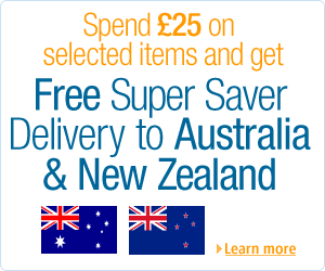 Amazon free delivery to Australia