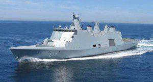 Danish warship Esbern Snare