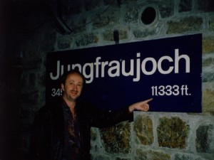 Jungfraujoch at 11,333 ft