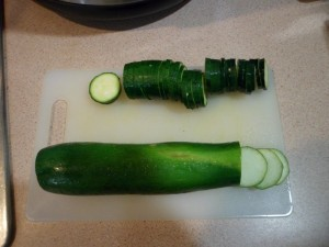 Zuchini Sliced