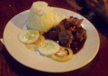 99 Peso Chicken and Pork Adobo Dinner