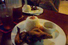 99 peso Chicken Breast Dinner