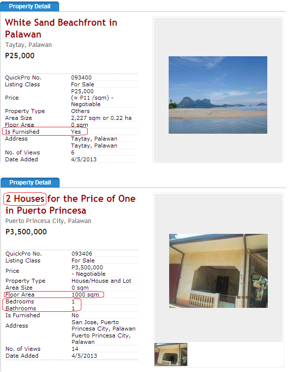 Interesting Property in Philippines