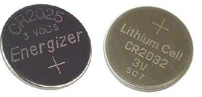 What is the Difference between CR2025 and CR2032 Batteries