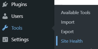 Wordpress-Tools-SiteHealth