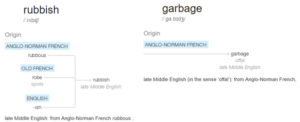 img: rubbish or garbage